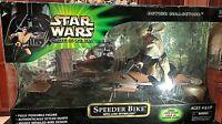 New Star Wars Power of the Jedi Action Collection Speeder Bike w/ Luke Skywalker