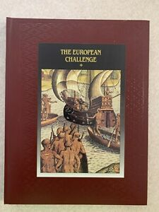 The American Indians Time Life Books Replacement The European Challenge Like New