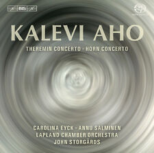 Aho: Theremin and Horn Concertos, New Music