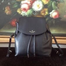 NWT Kate Spade NEW YORK Small Breezy Mulberry Street Backpack Bag leather Black