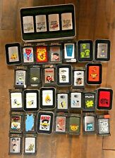37x Flamerite Collection EXTREMELY RARE 37 Zippo Lighters SHAG Ed ROTH Haze XXL
