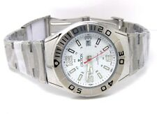 Croton Men's Stainless Steel Bracelet Date White Dial (CA301237SSDW)