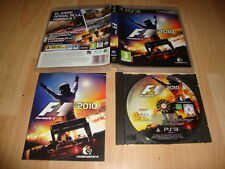 F1 FORMULA ONE 2010 DE CODEMASTERS PARA LA SONY PS3 USADO COMPLETO
