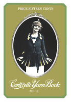 Corticelli #10 c.1919 WWI Era Book of Knitting & Crochet Vintage Patterns