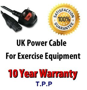 UK Mains Power Lead Cable Cord For Vibrapower slim 2 plus
