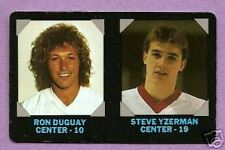 1985-86 7/11 7 Eleven Single NHL Superstars Steve Yzerman Detroit Red Wings
