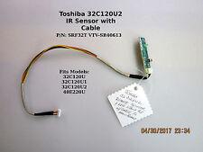 TOSHIBA 32C120U2 HDTV IR Sensor SRF 32T VTV-SR40613 REV1 - C 454C3C51LO1 REV:1B
