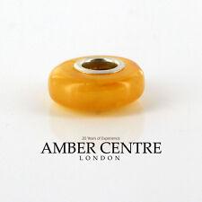 Amber Trolls fits all charm bracelets German Baltic Amber 925 Ag CHA22 RRP£45!