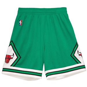 Mitchell & Ness Kelly Green NBA Chicago Bulls 2008-09 Swingman Shorts