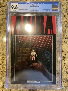 AKIRA #1 CGC 9.6 1ST AMERICAN APPEARANCE KANEDA & TETSUO WHITE PAGES!!!