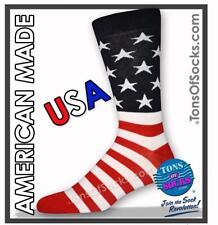 Men's USA American Flag Socks (Made in USA)