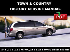 New listing Chrysler Town & Country Diesel 2001 2002 2003 2004 2005 Service Repair Manual