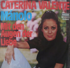 """7"""" 1970 di culto in mint -! Caterina Valente: Manolo"""