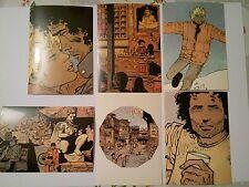 COSEY 6 carte postale 1985