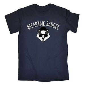 Breaking Badger T-SHIRT Chemistry Parody Tv Science Cute Funny birthday gift