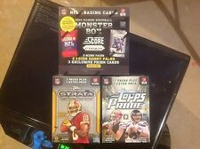 3 boxes lot 2012/2013/2014 FB FACT SEALD ,STRATA,PRIME,SCORE RETAIL BOXES