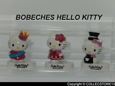 SERIE COMPLETE DE FEVES LES BOBECHES HELLO KITTY -PORTE BOUGIE - 6CM ENVIRON