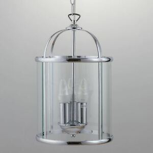 Modern Ceiling Light Pendant Chandelier Polished Chrome Kitchen Dining Light