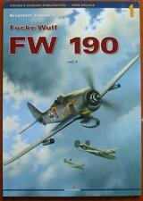 Focke-Wulf FW 190  vol.1 Kagero Monograph  Without decals