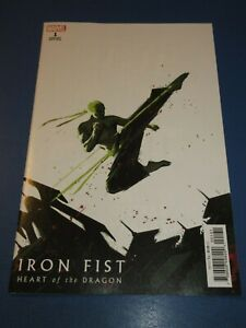 Iron Fist Heart of the Dragon #1 Variant NM Gem Wow