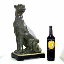 "Rare Austin Kinder Collection Cougar Sculpture 21.5"" Tall"