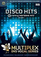 DISCO HITS VOL 2 - SUNFLY MULTIPLEX KARAOKE DVD - 12 HIT SONGS