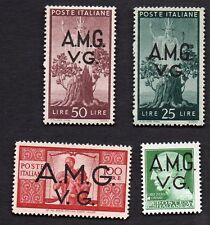 Italy A.M.G. V.G. Scott 1LN10-1LN10-13 SET OF 4
