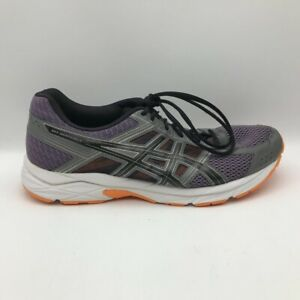 Asics Mens Gel Contend 4 Running Shoes Gray T715N Lace Up Low Top Mesh 9.5M