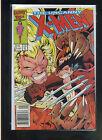 Uncanny X-Men 213 NM Mutant Massacre Wolverine vs Sabretooth CBX11