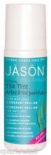 Jason Organic Purifying TEA TREE Pure Natural Roll On DEODORANT 89ml