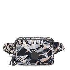 Kipling Crossbody Bag Mini Bumbag ABANU MULTI in URBAN PALM Print RRP £63