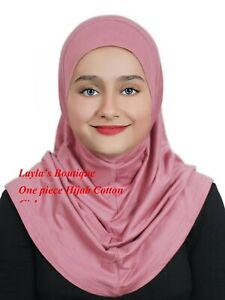 Girls Hijab  Cotton Standard  Kids  Al-Amira Hijabs 1 PC hijab