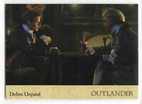 Outlander Season 2 (2017) RAINBOW FOIL BASE Card #26 / DEBTS UNPAID