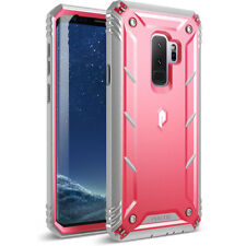 Poetic Samsung Galaxy S9 Plus Rugged Case [Revolution] Shockproof Cover Pink