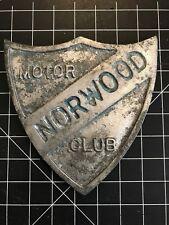 Norwood Motor Club Car Badge