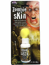 Zombie  Skin Fake Liquid Latex Scary Tone  Flesh Halloween Fancy Horror Make-up