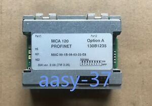 1PCS NEW Danfoss Inverter Profinet Ethernet communication module MCA120 130B1235