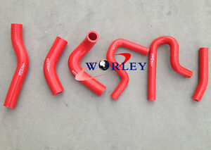 RED For Suzuki Jimny 1.3 M13A 2000-2011 Silicone radiator heater hose