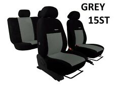 SEAT LEON FR Mk3 2013 ONWARDS VELOUR SEAT COVERS MADE TO MEASURE FOR CAR