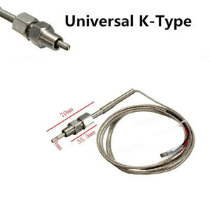 Universal K-Type EGT Thermocouple Temperature Sensor For Car Exhaust Gas Probe