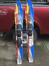 Connelly Response Escape Series 63� Water Skis Pair Excellent Condition