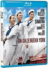 ON THE TOWN (Gene Kelly, Frank Sinatra)  -  BLU RAY - Sealed Region B for UK