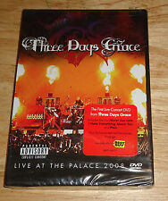 Three/3 Days Grace DVD Live at the Palace 2008 PARENTAL ADVISORY/PA NEW BEST BUY