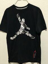 FLIP THIS Black 3s Shoes Michael Jordan Men Med Short Sleeve T-shirt with logo