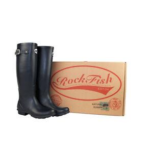 Rockfish Women's Tall Standard Matt Wellington Boot Various Colours UK3 - UK8