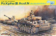 "Dragon 6431 ""pz. Kpfw. III ejec. n spz.abt.501 África"" en 1/35"