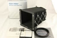 【 UNUSED in BOX 】MAMIYA Bellows Hood G-3 Full Set for RZ67 RB67 from JAPAN