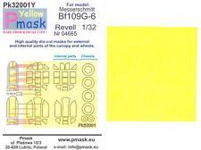 Model Maker 1/32 MESSERSCHMITT Bf-109G-6 Kabuki Tape Paint Mask Set for Revell