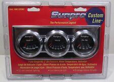 Sunpro Custom Line 3 Black Face Gauge Set Cp7996 New