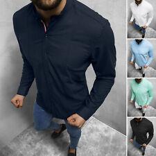 Freizeithemd Langarmhemd Hemd Shirt Casual Classic Herren OZONEE O/3013Z